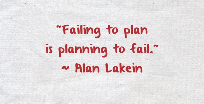 failing to plan quote